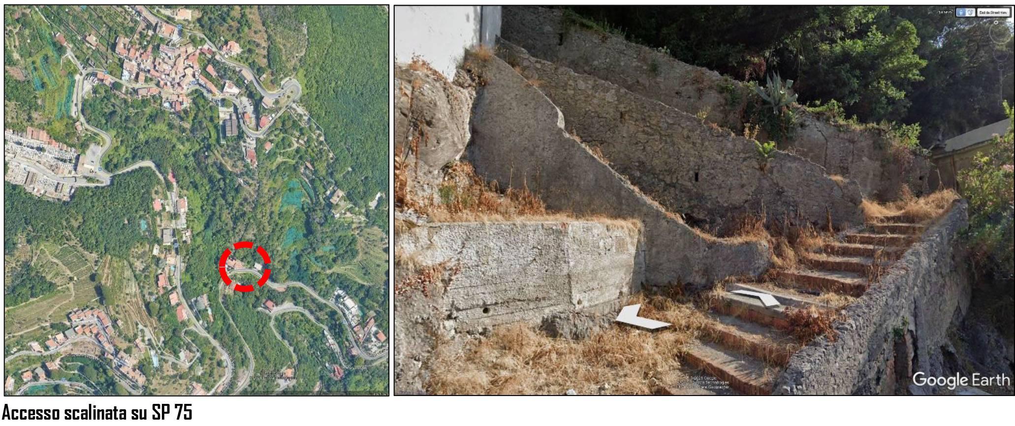 Antica strada vicinale abbandonata a Vietri: la segnalazione alla piattaforma TTT